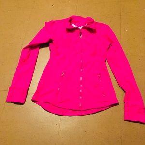 Lululemon Athletica Fushia Jacket Size 8
